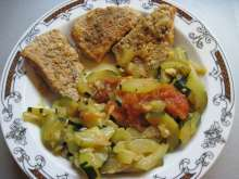 Pork Medallions with Zucchini