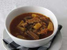 Oyster Mushroom Goulash with Potatoes