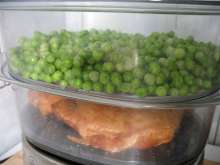 Pea in steamer