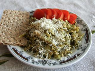 Broccoli with Egg