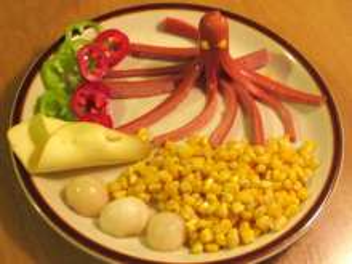 Octopus breakfast