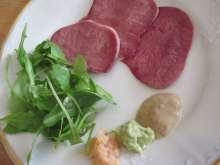 Smoked Beef Tongue with Horseradish