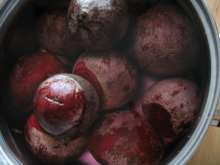 Preparation of beetroot