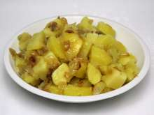 Boiled Potatoes with Onion