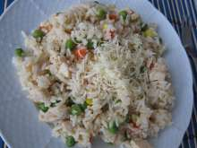 Chicken Risotto with Vegetable