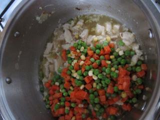 Add vegetable
