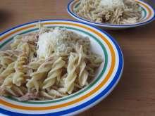 Spicy Pasta with Tuna