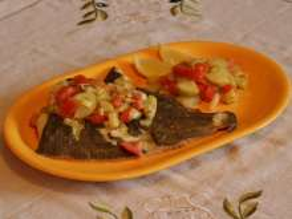 Flounder with Vegetables