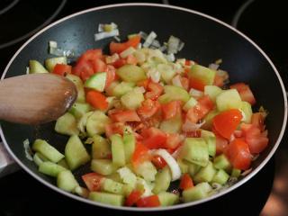 Preparation of vegetables