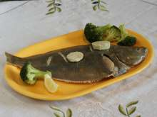 Flounder with Herb Butter