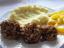 Oven-baked Stuffed Mushrooms