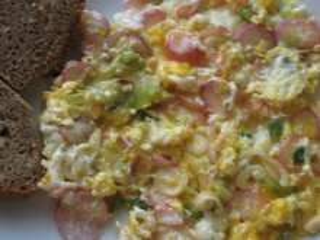 Spring Scrambled Eggs
