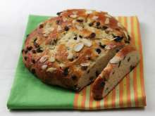 Easter mazanec (sweet Slovak Easter bread)