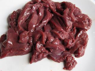 Preparation of liver
