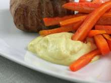 Steak sauce with Dijon mustard