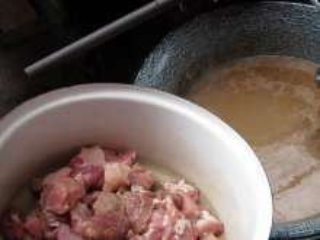 12:15 p.m. Add pork