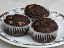 Banana - chocolate muffins