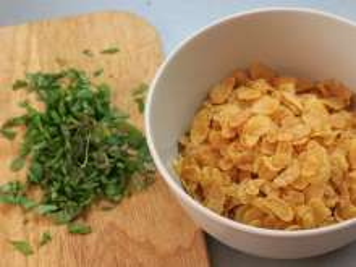 Preparation of abasil - flakes mixture