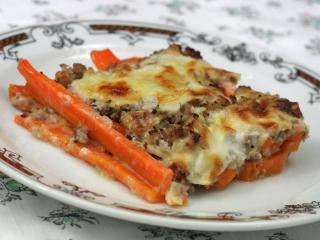 Bon Batatas von Forno Sweet Potatoes with Meat