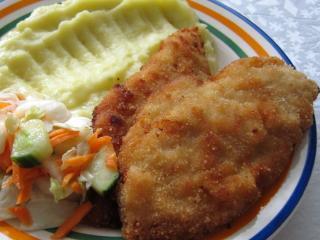 Fried Chicken Schnitzels
