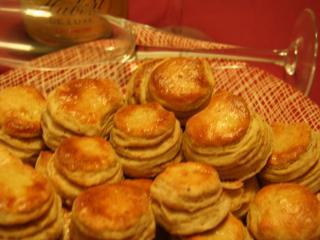 Pork Rind Biscuits - Pagatche