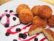 Sweet Cream Cheese Croquettes