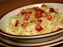 Potato Dumplings with Sauerkraut