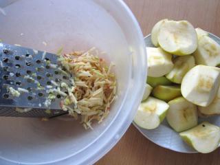 Preparation of apples
