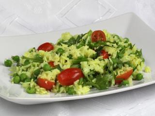 Rice Salad with Peas