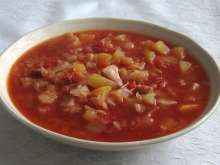 Cabbage-Tomato Soup