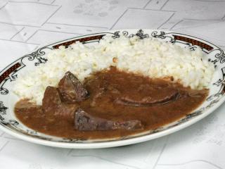 Pork Liver with Sauce