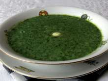 Spinach Soup for Kids