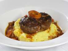 Ossobuco - stewed veal calf