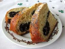 Easter poppy seed loaf