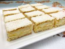 Coconut Wafer Slices