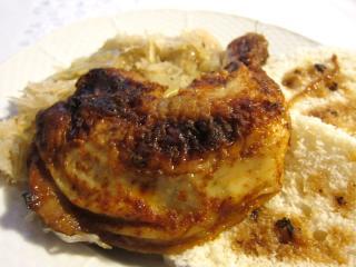 Honey-Ginger Chicken Legs