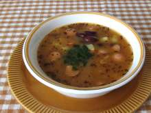 Bean Soup with Pork Sausage