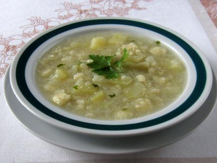 Kohlrabi Soup for Children