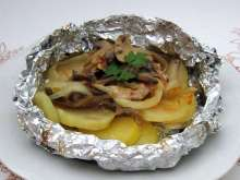 Pork in Aluminium Foil