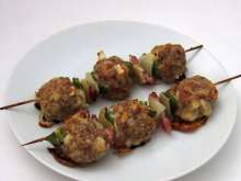 Meat - Hermelin Balls on Skewer