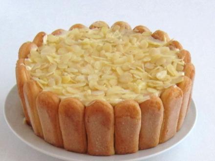 Malakov Cake with Mascarpone