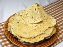 Lokshe (Potato Tortillas) from Instant Mashed Potatoes