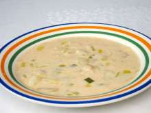 Potato Soup with Beans and Leek