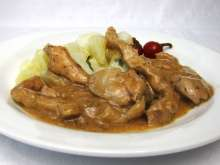 Chicken Saute with Liver