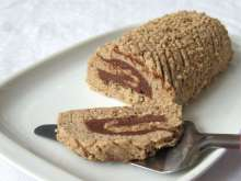 Chestnut jelly roll