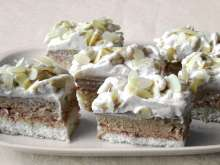 Coffee Coconut Slices