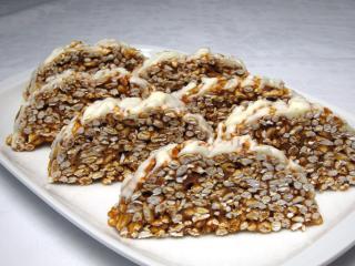 Caramel Saddle of Venison Cake