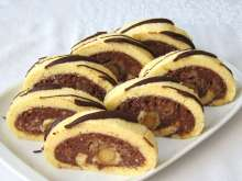 Apple Roulade with Marzipan