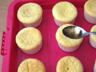 Make up cupcake bunnies