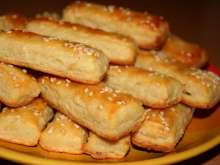 Bryndza (Slovak sheep cheese) sticks